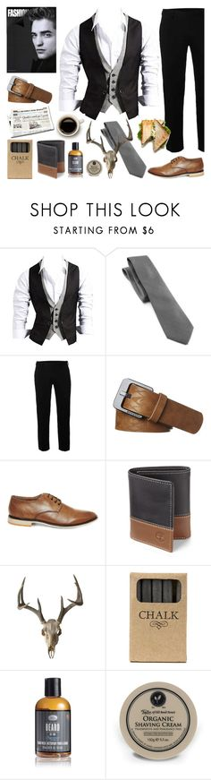 """Smart Casual"" by lysianna ❤ liked on Polyvore featuring Croft & Barrow, Topman, Quiksilver, Steve Madden, Timberland, Jayson Home, The Art of Shaving and Taylor of Old Bond Street"