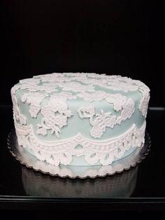 Pretty Lace Cake