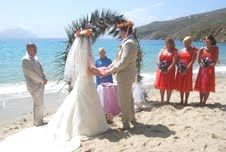 Beach Wedding On the island of Amorgas (Greece) in 2014. Enter here https://afwpi.com/WedGive/Greece/Greece.html