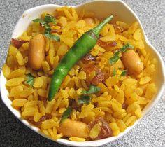 Poha/ Rice Flakes Snack ~ Food Fun Freak