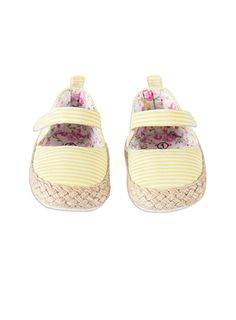 Pumpkin Patch - footwear - baby girls daisy shoe - S4FW10016 - lemon shake - 1 to 4