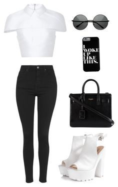 A fashion look from August 2015 featuring cropped shirts, stretch jeans and white sandals. Browse and shop related looks. Tv Show Outfits, Cute Teen Outfits, Teen Fashion Outfits, Women's Fashion Dresses, Outfits For Teens, Stylish Outfits, Mode Pastel, Outing Outfit, Looks Chic