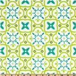 Michael Miller Andalucia Moorish Tiles White