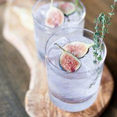 Gin Tonic con higos y romero
