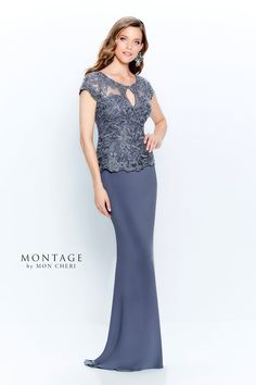 Mother of the Bride Dresses by Montage | Mon Cheri | Special Occasion Formal Wear for the Modern Mother Formal Gowns With Sleeves, Short Sleeves, Bridal Dresses, Prom Dresses, Lace Dresses, Lace Gowns, Montage By Mon Cheri, Mother Of The Bride Plus Size, Mon Cheri Bridal