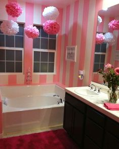 Cute For A Little Girls Bathroom