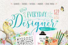 The Everyday Designer Bundle Vol. 02 By TheHungryJPEG
