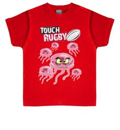 Camiseta infantil Rugby Touch#rugbytouch #rugby  #camisetas http://www.latostadora.com/emcmasquecamisetas