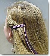 1980's Braided barrettes. The memories