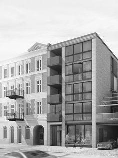 housing design in Warsaw, by ARKT Architekci
