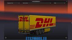 DHL trailer 1.18 - ETS2MODS.EU - Euro Truck Simulator 2 Mods
