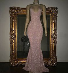 Formal Prom Dresses, Mermaid Stunning Spaghetti-strap Sequined Sleeveless Long Prom Dress Whether you prefer short prom dresses, long prom gowns, or high-low dresses for prom, find your ideal prom dress for 2020 Sequin Evening Dresses, Pink Prom Dresses, Mermaid Prom Dresses, Homecoming Dresses, Evening Gowns, Sexy Dresses, Wedding Dresses, Summer Dresses, Party Dresses
