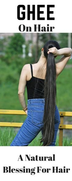 Natural Beauty Remedies Natural way to use ghee on your hair for super fast and strong hair growth Hair A, Your Hair, Men Hair, Blonde Hair, Girl Hair, Hair Growth Home Remedies, Beauty Hacks For Teens, Natural Hair Styles, Long Hair Styles