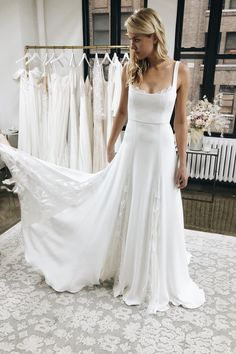 Western Wedding Dresses, Bridal Wedding Dresses, Dream Wedding Dresses, Bridesmaid Dresses, Wedding Dress Styles, Tulle Wedding, Wedding White, Maxi Dresses, Modest Wedding