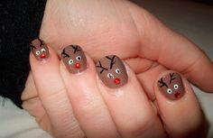 Manicura Navideña, nuestras uñas se visten de fiesta …