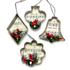 Diy Quilted Christmas Ornaments, Handmade Christmas Crafts, Xmas Crafts, Christmas Decorations To Make, Christmas Ideas, Christmas Tree Ornaments To Make, Mary Christmas, Woodland Christmas, Christmas Things