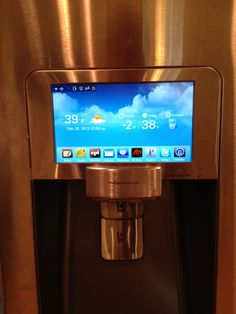 Samsung's Android-powered refrigerator RF4289HARS