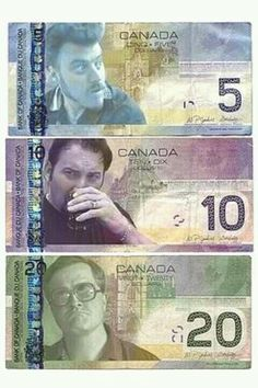 Funny pictures about Canadian Money Redesign. Oh, and cool pics about Canadian Money Redesign. Also, Canadian Money Redesign photos. Trailer Park Boys Ricky, Trailer Park Boys Quotes, Sunnyvale Trailer Park, Canadian Things, Thats The Way, Favorite Tv Shows, Funny Jokes, It's Funny, Nerdy