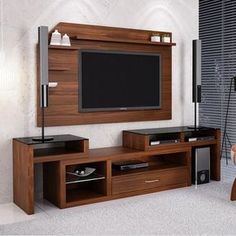 Choose from the largest collection of Furniture Design & Decorating Ideas to add style at home/office. Modern Tv Cabinet, Modern Tv Wall Units, Tv Unit Decor, Tv Wall Decor, Tv Rack Design, Tv Unit Furniture Design, Living Room Tv Unit Designs, Home Room Design, Tv Cabinets