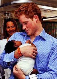 Prince Harry loves kids