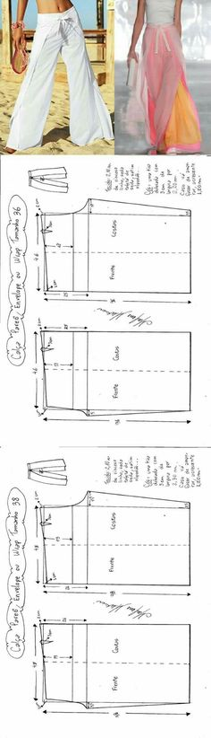 Modell aus 3 Lagen Chiffon/Crèpe