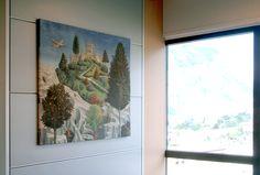 Ufficio Vednite AFFRESCO - castello (particolare del corteo dei magi) art Z 207 108x100 cm