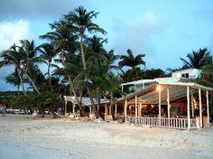 My favorite restaurant in the world (so far).  Coconut Grove-Antigua