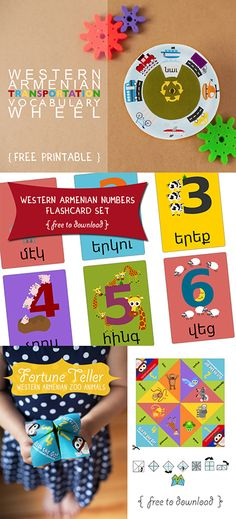 We're celebrating our partnership with the Armenian General Benevolent Union (AGBU) with FREE Western Armenian language printables!