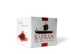 La boîte - Safran de Gruissan Packaging Saffron