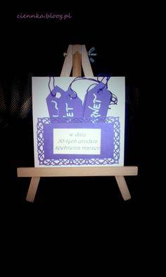 kartka na 50 urodziny karnety