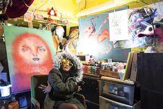 STUDIO VISIT & INTERVIEW :: THE WILD IMAGINATION OF ARTIST LAUREN YS - The Hundreds