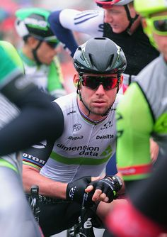 Mark Cavendish looks on during Stage 6 of the Tour of Britain 2016 on September 9 2016 in Sidmouth United Kingdom