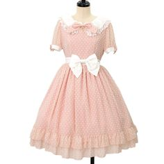 ♡ BABY THE STARS SHINE BRIGHT ♡ Snow dot chiffon dress http://www.wunderwelt.jp/products/detail8661.html ☆ ·.. · ° ☆ How to buy ☆ ·.. · ° ☆ http://www.wunderwelt.jp/user_data/shoppingguide-eng ☆ ·.. · ☆ Japanese Vintage Lolita clothing shop Wunderwelt ☆ ·.. · ☆
