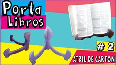 ♥Como hacer un ATRIL DE LIBROS♥ FACIL✔★Vídeo 2 Diy Crafts, Youtube, Movie Posters, Libros, Music Stand, Cartonnage, Step By Step, How To Make, Manualidades