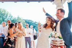 Nude wedding cake Ibiza