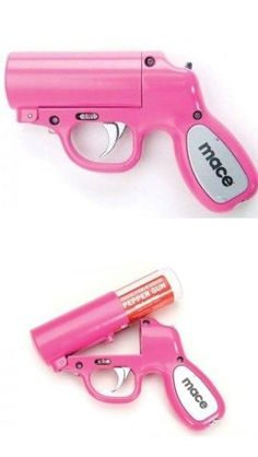 All women should carry pink mase  / Check out Charter Arms on Pinterest or visit our web-sight at  CharterFireArms.Com
