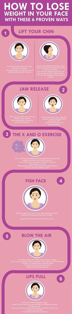 10 Facial Exercises That Will Help You Look Younger | Postris