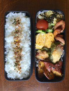Obentou 2016.7.1 また作ってしまったスタッフドピーマン&大学芋&焼きそば Cute Lunch Boxes, Bento Box Lunch, Bento Recipes, Cooking Recipes, Toddler Lunch Box, Japanese Food Sushi, Plate Lunch, Good Food, Yummy Food