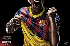 Print advertisement created by Africa, Brazil for ESPN, within the category: Media. Football Ads, Football Couples, Football Shirts, Football Players, Sports Advertising, Print Advertising, Print Ads, Advertising Campaign, Guerrilla Advertising