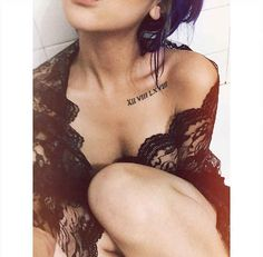 Clavicle | 33 Perfect Places For A Tattoo
