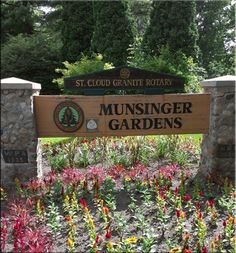 Gazebo At Munsinger Clemens Gardens St Cloud Mn Minnesota On My Mind Pinterest Gardens