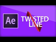 After Effects Tutorial [12] Twisted Line - YouTube