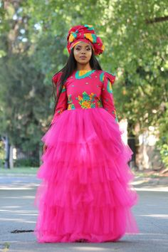 South African Traditional Dresses, African Traditional Wedding, Traditional Weddings, Pedi Traditional Attire, Traditional Outfits, African Fashion Dresses, African Dress, African Outfits, African Wedding Dress
