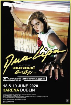 Buy Dua Lipa tickets from Ticketmaster IE. Dua Lipa tour dates, event details + much more. Tour Posters, Movie Posters, Internet Packages, Donate To Charity, Dublin, Dj, Dating, Tours, Concert