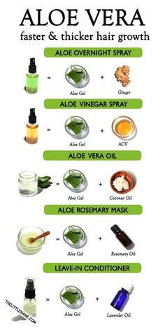 natural hair care growth aloe vera