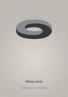 Möbius Strip // Impossible Figures by Éric Le Tutour