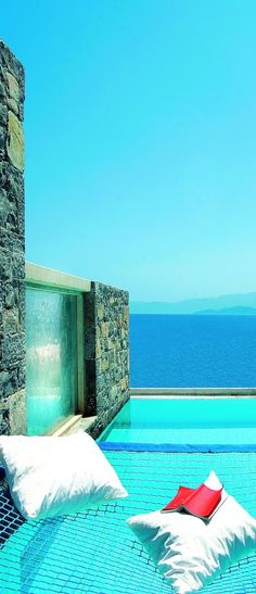 This was our Hotel in Crete!!!!! I can't believe its on Pinterest!!!! AMAZING AND A GREAT START TO THE HONEYMOON! MJ Elounda Peninsula All Suite Hotel, Crete