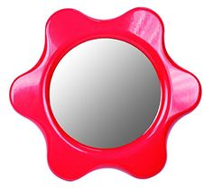 Baby Mirror is a flower shaped double-sided plastic mirror thats easy for little hands to hold as babies discover their reflection and begin to learn about who they are. Suitable for babies aged months. Made of high quality plastic. Toddler Gifts, Toddler Toys, Baby Toys, Kids Toys, Car Seat Accessories, Baby Accessories, Baby Mirror, Mirror Game, Imagination Toys