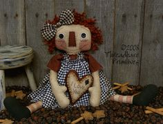 Raggedy Ann Doll Patterns, Raggedy Ann Patterns