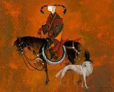 ZAYA - Zayasaikhan Sambuu, Mongolian painter |
